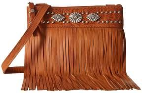 American West Saratoga Fringe Crossbody Cross Body Handbags