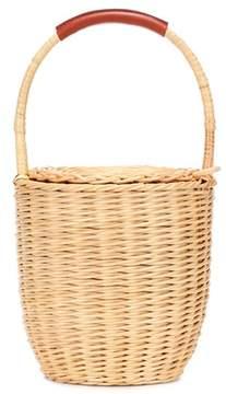 A.P.C. Jeanne wicker bucket bag