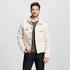 Merona Men's Denim Trucker Jacket Natural