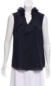T Tahari Meredith Sleeveless Top