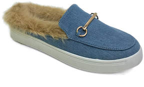 Bamboo Blue Denim Grand Slam Mule
