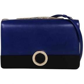 Bulgari Blue Leather Handbag