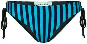 Circus Hotel striped bikini bottom