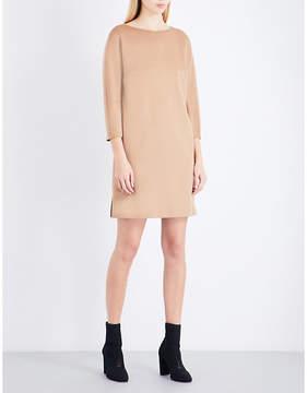 Max Mara Side-slits camel hair dress