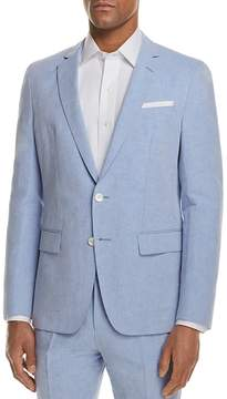 BOSS Linen Solid Slim Fit Sport Coat