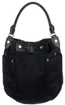 Marc by Marc Jacobs Leather-Trimmed Nylon Dakota Handle Bag
