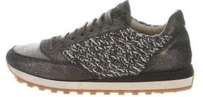 Brunello Cucinelli Metallic Monili Sneakers