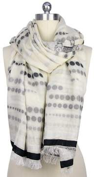 Saachi Faded Polka Dot Scarf.