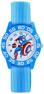 Marvel The Avengers Assemble Captain America Boys' Time Teacher Watch