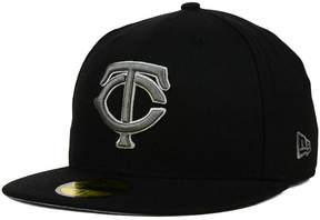 New Era Minnesota Twins Graphite 59FIFTY Cap