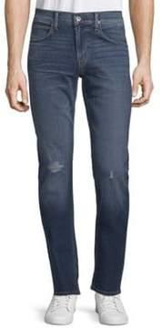 Hudson Slim Straight-Leg Jeans
