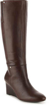 Lauren Ralph Lauren Women's Tamora Wide Calf Wedge Boot