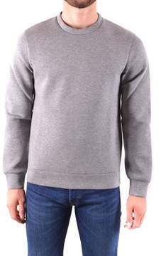Brian Dales Men's Grey Cotton Sweatshirt.