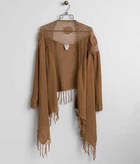 Daytrip Open Weave Cardigan Sweater