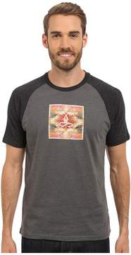 Prana Red Rock Zen Raglan Men's Short Sleeve Pullover
