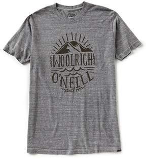 O'Neill Mountains Woolrich Collaboration Short-Sleeve Triblend T-Shirt