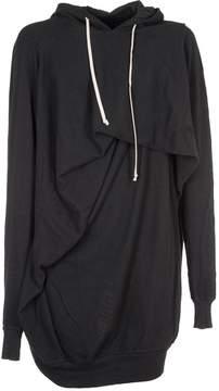Drkshdw Rick Owens Glitter Short Twisted Seahorse Sweatshirt