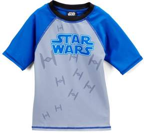 Star Wars Blue & Gray Rashguard - Boys