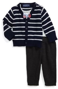Andy & Evan Infant Boy's Cardigan & Pants Set