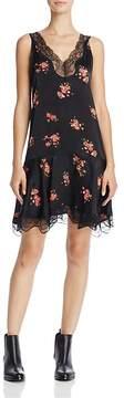 En Creme Floral Print A-Line Dress