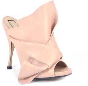 N°21 8003 - Leather Heeled Slide