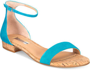 INC International Concepts Women's Yafaa Flat Sandals, Created for Macy's Women's Shoes