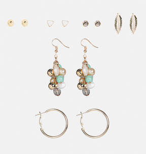 Avenue Boho Mixed Earring Set
