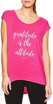 Gaiam Women's Gratitude Attitude Graphic Tee
