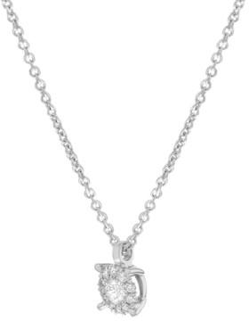 Damiani Bliss 18K White Gold & 0.08 ct Diamonds Pendant Necklace