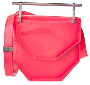 M2Malletier Mini Amor Fati Patent Shoulder Bag.