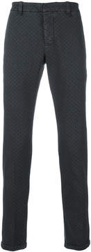 Dondup embroidered slim-fit jeans