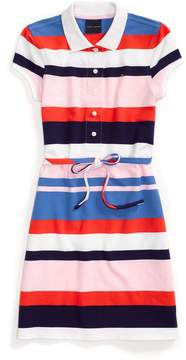 Tommy Hilfiger Stripe Polo Dress