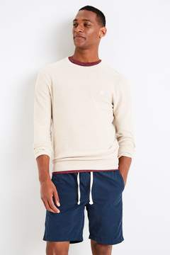 Jack Wills Cairnsmore Textured Crew Sweater