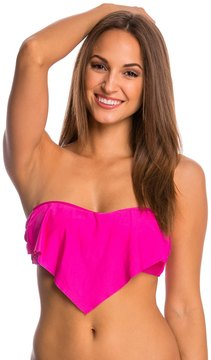 Athena SwimwearHeavenly Ruffle Bandeau Bikini Top Bra 7537996