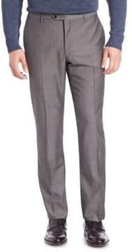 Corneliani Textured Wool Dress Pants