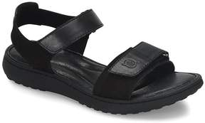 Børn Nirvana Leather and Suede Sandals