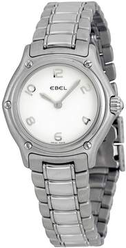 Ebel Classic White Dial Stainless Steel Ladies Watch