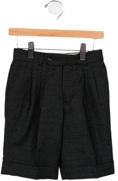 Bonpoint Boys' Tailored Wool Shorts