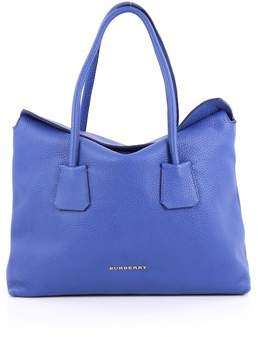 Burberry Pre-owned: Baynard Tote Grainy Leather. - BLUE - STYLE