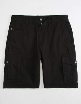 Lrg RC Ripstop Black Mens Cargo Shorts