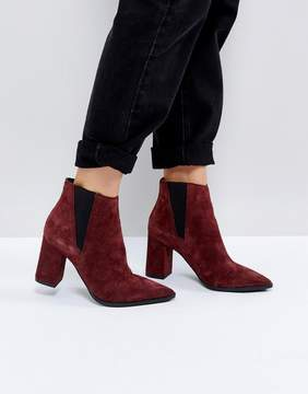 Pieces Suede Ankle Boots