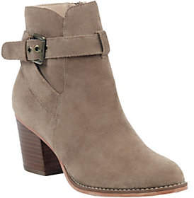 Sole Society Leather Ankle Boots - Paislee