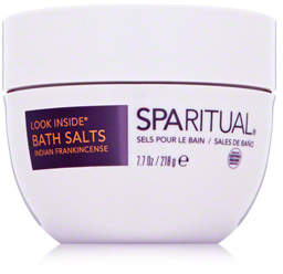 SpaRitual Organic Bath Salts- Look Inside Indian Frankincense