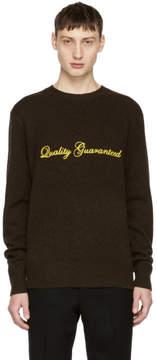 Rag & Bone Brown Victor Quality Guaranteed Sweater