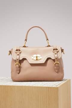 Miu Miu Leather top handle MM bag