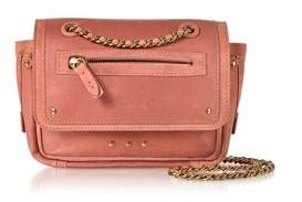 Jerome Dreyfuss Women's Pink Leather Shoulder Bag.