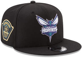 New Era Charlotte Hornets All Metallic Hoops 9FIFTY Snapback Cap