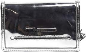 McQ Silver Leather Handbag