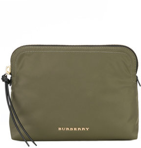 Burberry large zip-top technical pouch