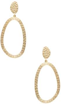 Rivka Friedman Women's Hammered Satin Drop Earrings